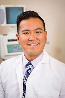Timothy Ko, MD, at the Tri-State Pain Institute in Erie, PA